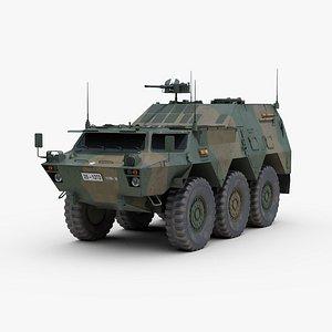 3D model type 82 vehicle