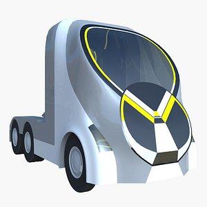 truck semitruck 3D model