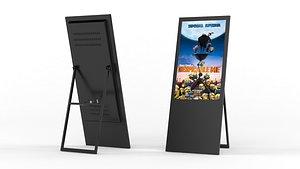 3D information kiosk model