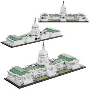 lego united states 3D