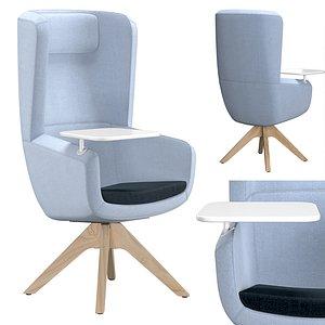 3D arca chair model