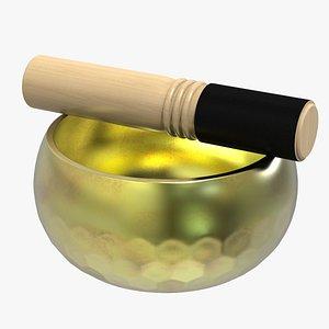 Tibetan Singing Bowl 3D