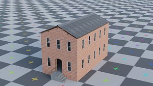 3D Brick warehouse