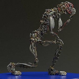 Mecha Humanoid 3D model