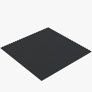 Soundproof panel model