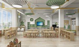 3D Kindergarten  Classroom 2