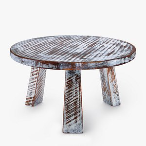 3D Rubbed Table model