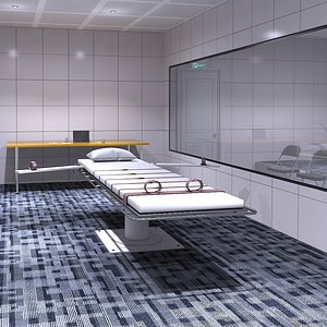 3D Execution Chamber model