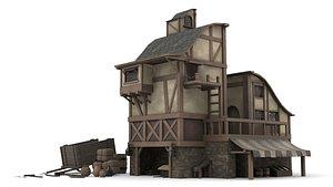 3D House of Merchants model