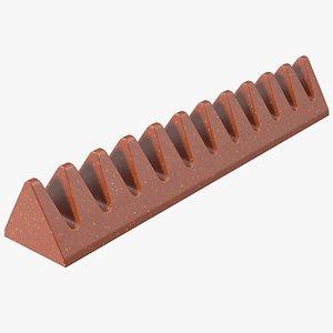 Milk Chocolate Bar 3D