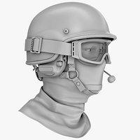 Police Ballistic Helmet No Materials