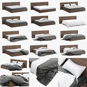 Bed Sheets Pack 01 3D