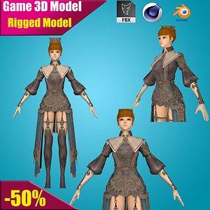 warrior 3D