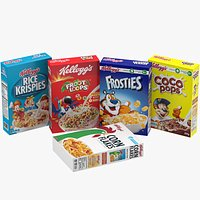 Cereal Boxes Set