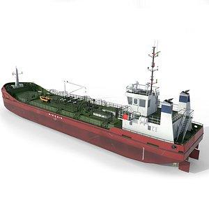 3D small tanker model