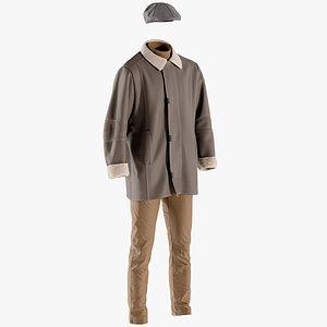 pants coat hat model