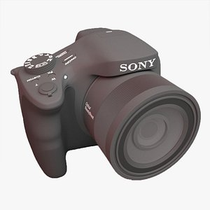 Sony camera DSC-HX350 3D model