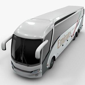 3D shuttle bus emirates