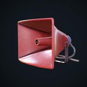 3D Horn Speaker Low