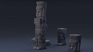 monumental atlanteans 3D model