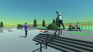 skate park 3D