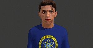 peter parker - tom model