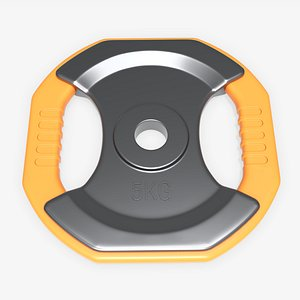 3D model weight handle