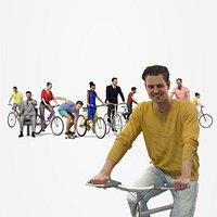 10x Scanned Bike People Vol01 Treapl