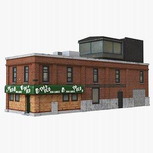 Building Pub 3D model