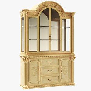 Classic Dining Cupboard Cabinet 3D