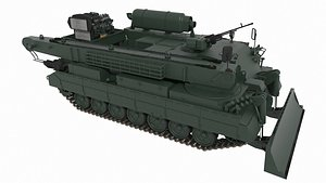 Brem 84 Atlet Armoured Repair and Recovery Vehicle Bysanders 3D Models 3D