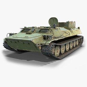 soviet mt-lb 3D model