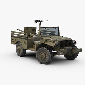 Dodge WC 55 3D model