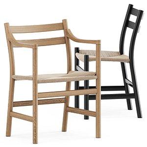 ch46 chair ch47 3D model