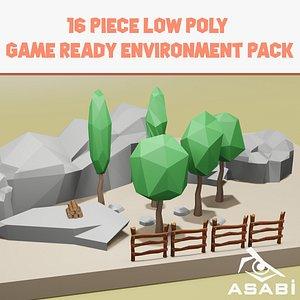 3D environment ready model