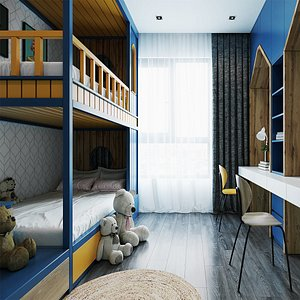 complete Apartment Interior 3D model