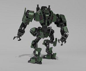 mech robot 3D