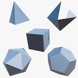 3D Platonic Solids