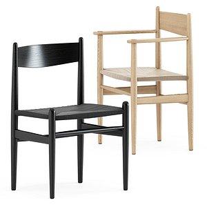 ch36 chair ch37 3D model