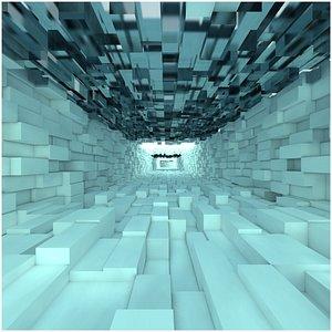 tunnel futuristic fly max