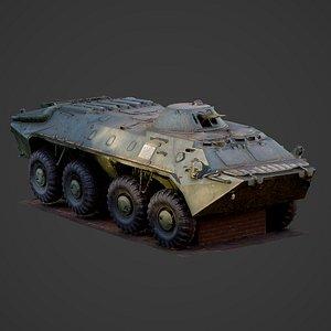 3D btr btr-70