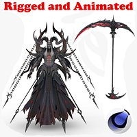 Brokais Rigged and Animated