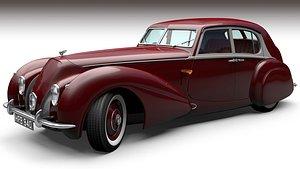 3D Bentley Corniche 1939 model