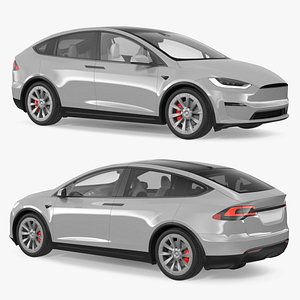 Electric SUV 3D model