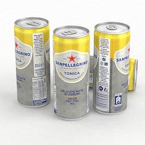 Beverage Can Sanpellegrino Tonica 330ml 2021 3D