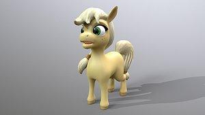 pony cartoon model
