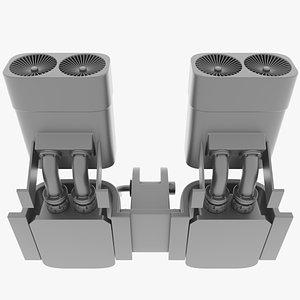 3D suppressor