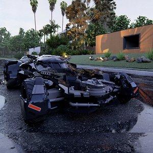 3D model Bat mobile