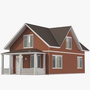 Classic House 05 3D