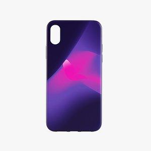 3D iPhone XR Case 7 model